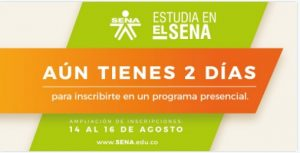 AMPLIACION DE INSCRIPCONES SENA2