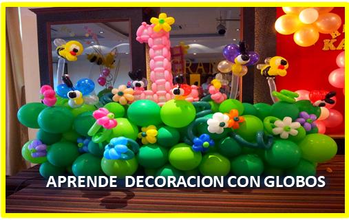 Hazte Decorador De Globos Con El Sena