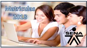 matriculas 2018