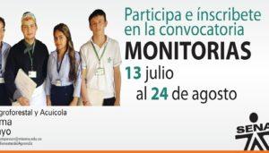 Hazte Monitor Sena Y Recibe Apoyo De Sostenimiento